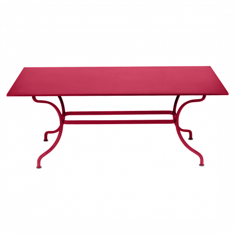 Table ROMANE 180 cm de Fermob, Rose praline