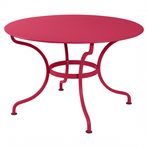 Table ronde ROMANE 117 cm de Fermob, Rose praline