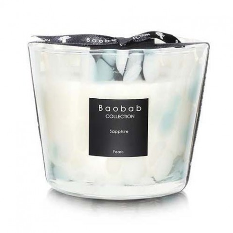 Bougie Sapphire PEARLS de Baobab Collection, 5 tailles