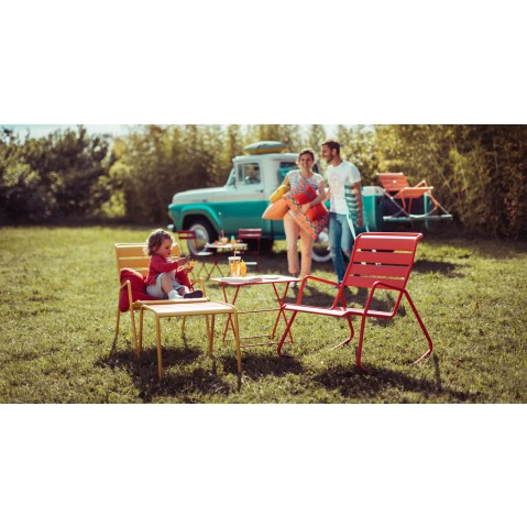 fauteuil bas monceau de fermob 23 coloris. Black Bedroom Furniture Sets. Home Design Ideas