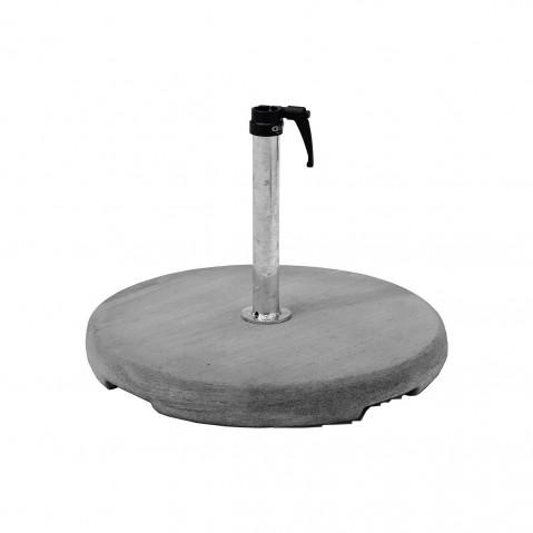 Socle béton Z avec tube de fixation de Glatz D.48-55 mm 55 kg