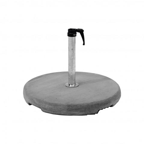 Socle béton Z de Glatz, D.35/38-39 mm, 3 poids