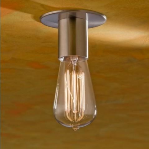 Socle de lampe Nautic COD bronze nickelé mat