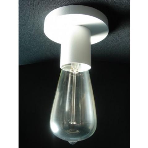 Socle de lampe Nautic COD D laqué blanc