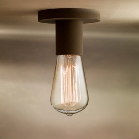 Socle de lampe Nautic COD D laqué bronze