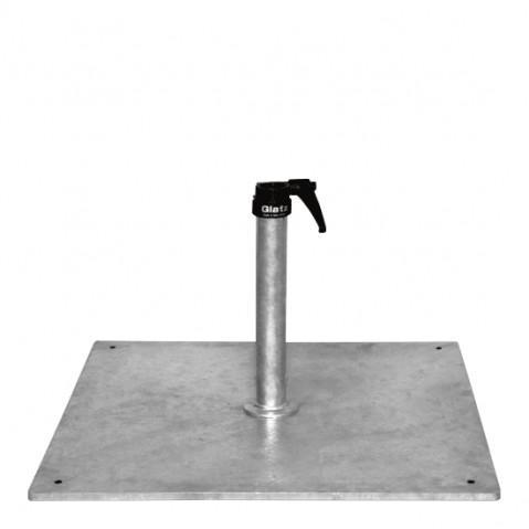 Socle en acier Z 40 kg de Glatz D.35/38-39 mm