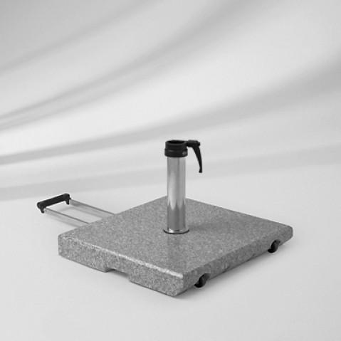Socle granite Z de Glatz avec roues D.35-39 mm 55Kg