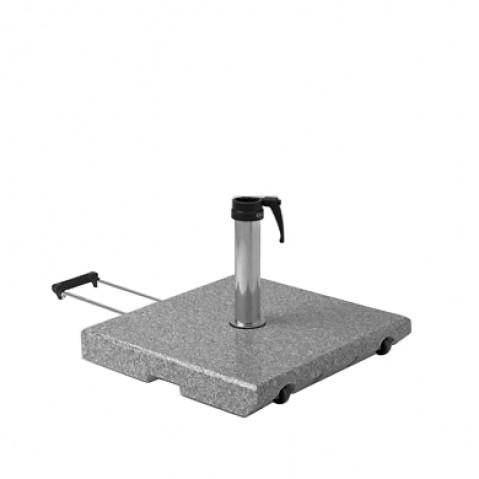 Socle granite Z de Glatz avec roues D.48-55 mm 55Kg
