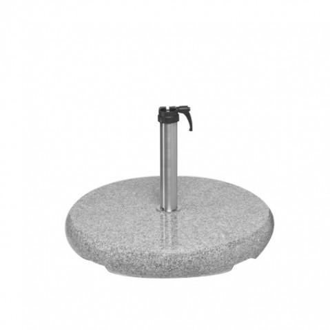 Socle Z en granite naturel de Glatz D.48-55 mm, 90 kg