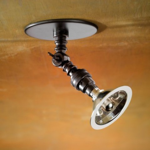 Spot orientable Nautic LILLEY RECESSED SPOT bronze antique