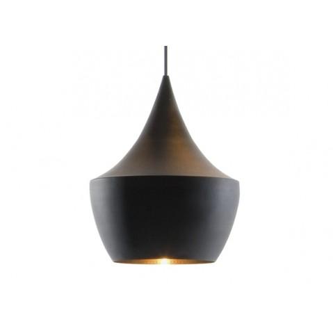Suspension BEAT LIGHT FAT de Tom Dixon D.24 cm noir