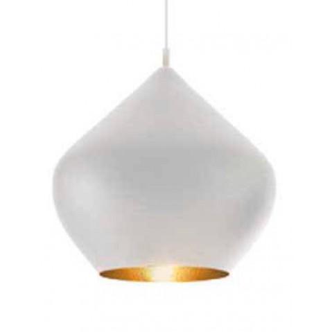 Suspension BEAT LIGHT STOUT de Tom Dixon D.52 cm blanc