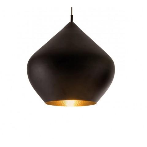 Suspension BEAT LIGHT STOUT de Tom Dixon D.52 cm noir