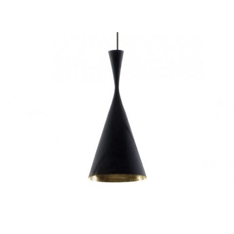 Suspension BEAT LIGHT TALL de Tom Dixon D.19 cm noir