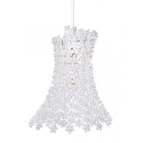 Suspension BLOOM de Kartell, Blanc