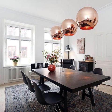 Suspension COPPER SHADE de Tom Dixon D.45