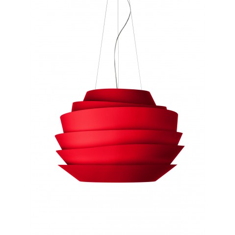 Suspension LE SOLEIL Foscarini rouge