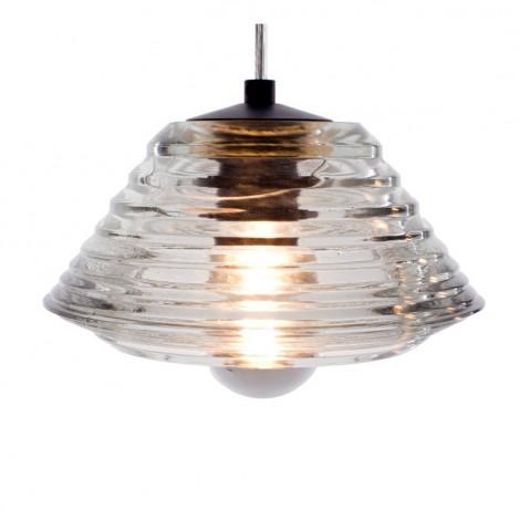 Suspension PRESSED GLASS LIGHT BOWL de Tom Dixon D.20