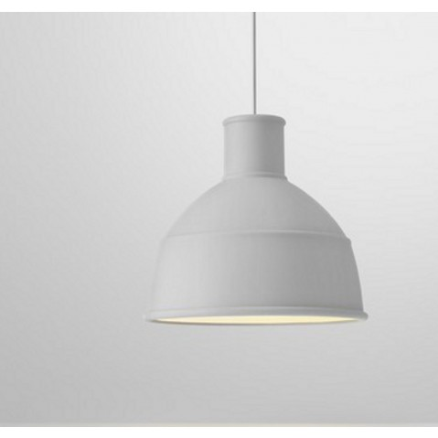 Suspension UNFOLD de Muuto, Gris clair