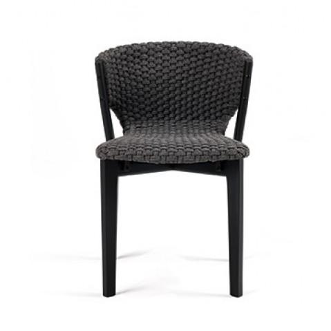 Chaise de table extérieur KNIT de Ethimo, 2 coloris