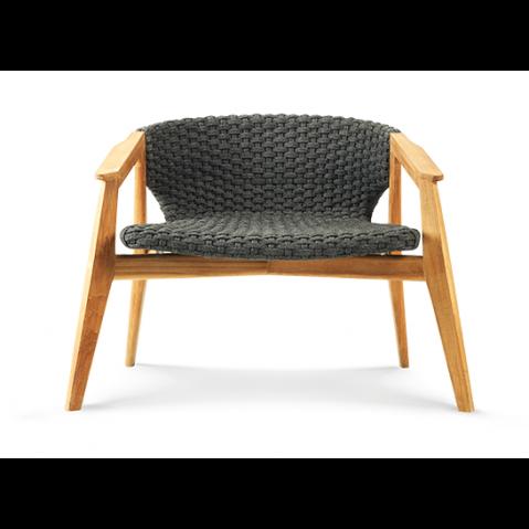Chaise longue KNIT de Ethimo, 2 coloris