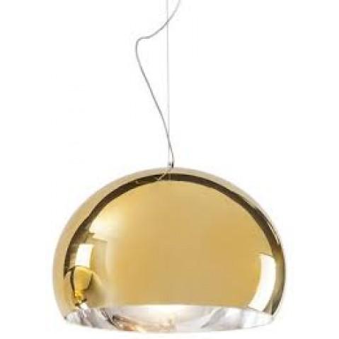 Lampe FL/Y métallisée de Kartell, 3 tailles, 3 coloris