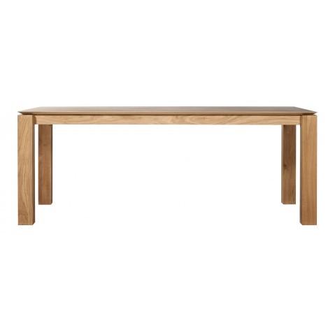 ethnicraft slice table 200x100. Black Bedroom Furniture Sets. Home Design Ideas