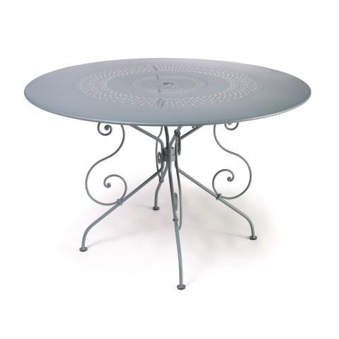 Table 1900 de Fermob D.117 gris métal