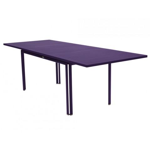 Table à allonge COSTA de Fermob aubergine