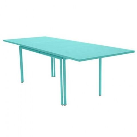 Table à allonge COSTA de Fermob Bleu lagune