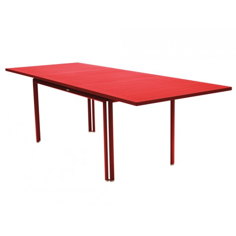 Table à allonge COSTA de Fermob, Coquelicot