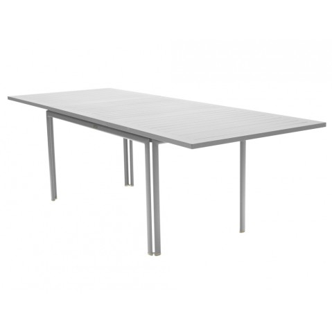 Table à allonge COSTA de Fermob gris métal