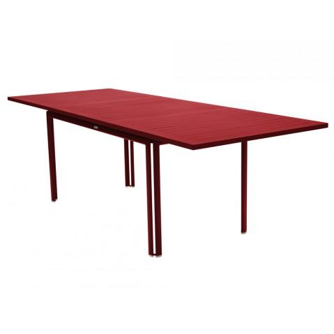 Table à allonge COSTA de Fermob piment