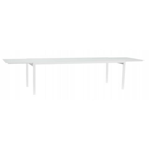 Table à allonge KWADRA de Sifas, blanc, 240 x 100