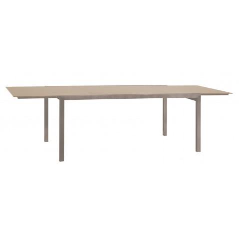 Table à allonge KWADRA de Sifas, moka, 180 x 100