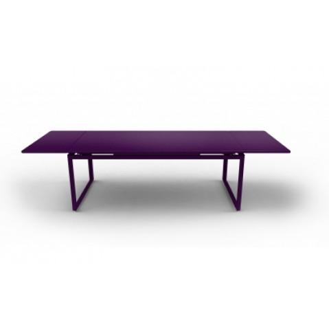 Table à allonges BIARRITZ de Fermob aubergine