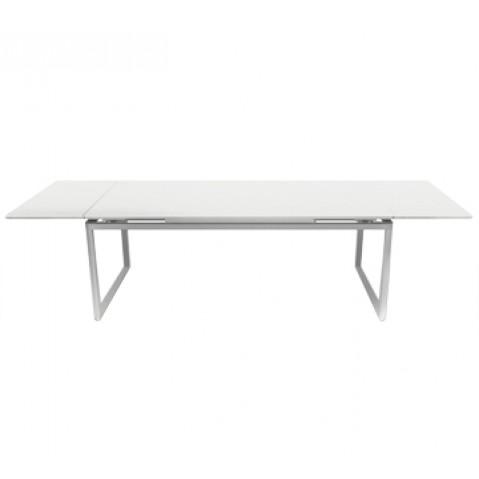 Table à allonges BIARRITZ de Fermob blanc coton