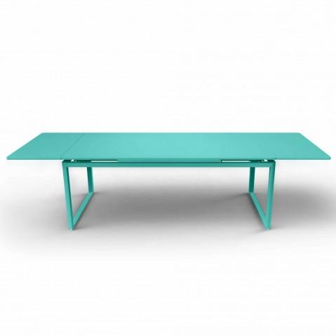 Table à allonges BIARRITZ de Fermob Bleu lagune