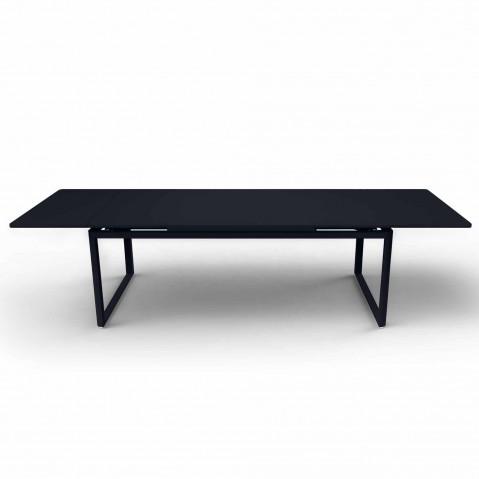 Table à allonges BIARRITZ de Fermob Carbone