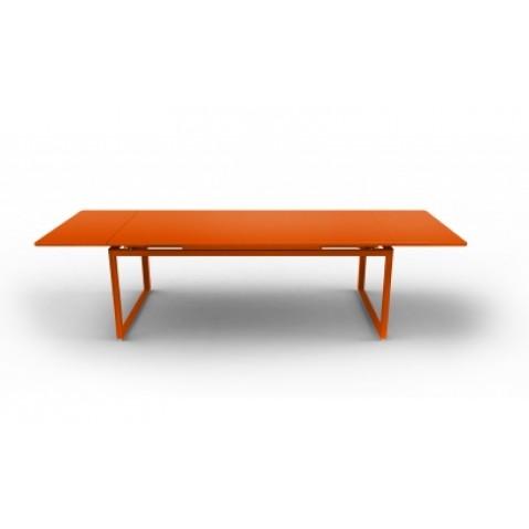 Table à allonges BIARRITZ de Fermob carotte