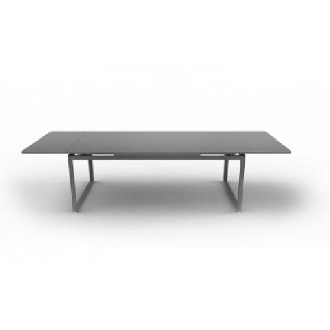 Table à allonges BIARRITZ de Fermob gris métal