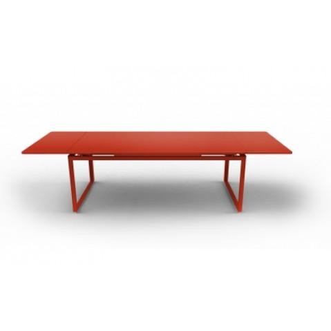 Table à allonges BIARRITZ de Fermob paprika