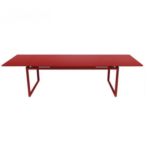 Table à allonges BIARRITZ de Fermob piment
