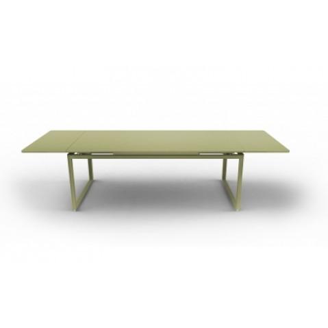 Table à allonges BIARRITZ de Fermob tilleul