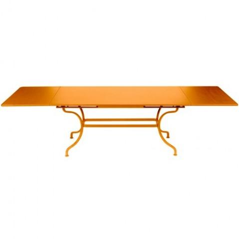 Table à allonges ROMANE de Fermob carotte
