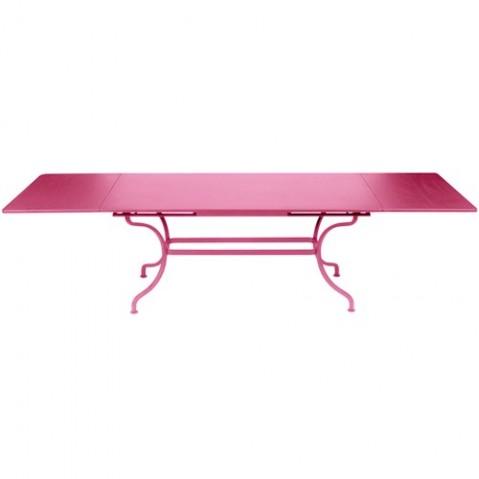 Table à allonges ROMANE de Fermob fuchsia