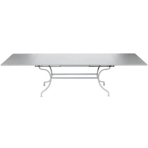 Table à allonges ROMANE de Fermob gris métal