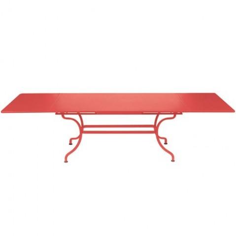 Table à allonges ROMANE Fermob, Capucine