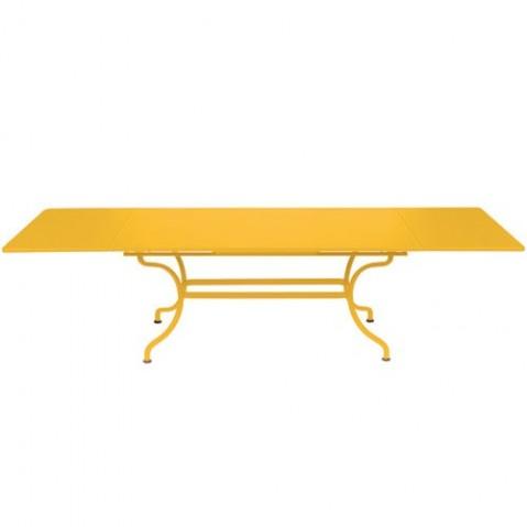 Table à allonges ROMANE Fermob, Miel