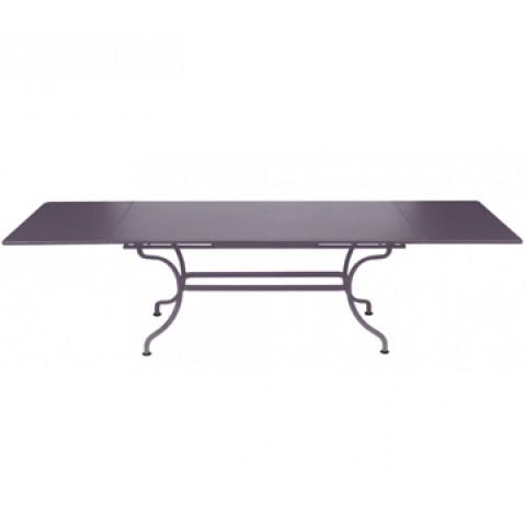 Table à allonges ROMANE Fermob, Prune